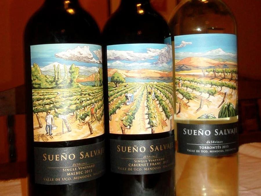 Sueño Salvaje [wine proyect]